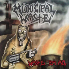 Municipal Waste ‎- Waste 'Em All CD - Thrash Metal - SEALED new copy