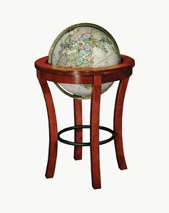 Replogle National Geographic Garrison 16 Inch Floor World Globe