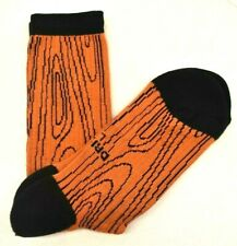 Nike Socks SB Crew Orange/Black Men's Shoe Size 8-12 FREE SHIPPING BRAND NEW