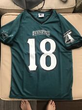 LEHIGH VALLEY IRONPIGS Philadelphia Eagles Phillies Giveaway Jersey #18 Youth XL