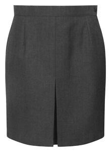 New Ladies Girls Invert Back  School Skirts Pleated Skirt Kids School Uniform