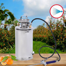 Sprayer Stainless Steel Corrosion Resistant Hand Pumped Cleaning 1.5 Gal