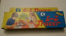 009 K-Tel E-Z TRACER Vintage Drawing Toy  Enlarges Reduces Copies Original Box