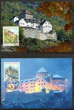 Liechtenstein - 2010 Castle Vaduz - Mi. MK 322 Maximum Cards