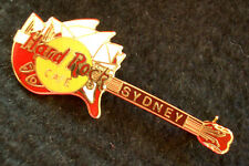 HRC Hard Rock Cafe Sydney Red Guitar Opera House 3LC