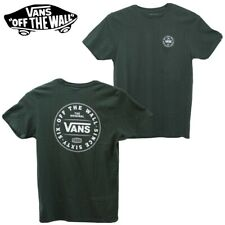 "VANS OFF THE WALL 66 MENS T-SHIRT ""DARK SPRUCE"" UK LARGE"