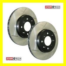 Stoptech Sport Slotted Disc Brake Rotor Front L & R MITSUBISHI EVO X 10 MR GSR
