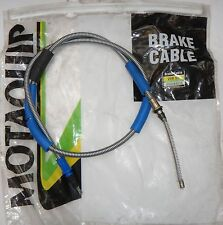MOTAQUIP RIGHT HAND REAR HANDBRAKE CABLE VVB331 FITS FORD ESCORT MK3, ORION