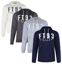 Firetrap New Men's Hooded Fleece Sweatshirt Hoodie Slim Fit Oswyth Top
