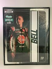 2021 O'Reilly Auto Parts 250 First Win Poster autographed by Christopher Bell