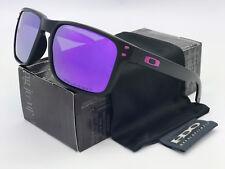 Sunglasse-s-Polarized Holbrook¹Oakley¹Matte Black/Purple Mercury Iridium