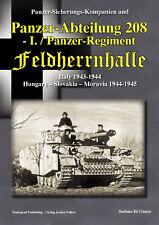 PANZER-ABTEILUNG 208 - I. /PZ. REGIMENT FELDHERRNHALLE