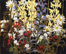 Wildflowers    by Tom Thomson  Giclee Canvas Print Repro