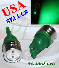 T10 285 447 464 501 555 558 Green High Power LED Trunk Tail Dome Light Bulbs