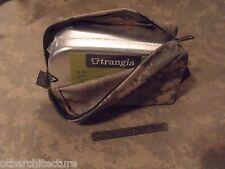 Emergency/Survival: Trangia #212 Aluminum Mess Kit Tin & Nylon Belt Pouch, ACU