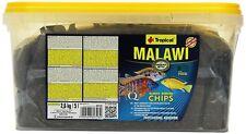 Clearance Tropical Malawi Chips 5l / 2.6kg Bucket Cichlid Mbuna Fish Food