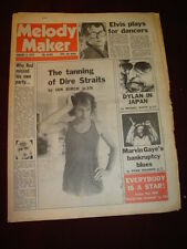 MELODY MAKER 1979 JAN 6 DIRE STRAITS COSTELLO ROD STEWART DYLAN MARVIN GAYE