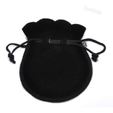 Coin Jewelry Gift Bag Storage New 10Pcs Velvet Flocking Drawstring Pouch Bags