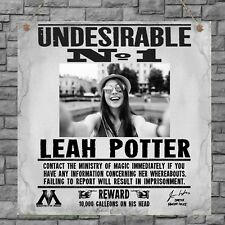 Harry Potter Undesirable Photo Plaque Birthday Gift Plaque Sign Wall House