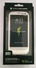 New Mophie Juice Pack Rechargeable Charging Case For Galaxy S3 SIII - WHITE