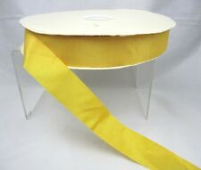 """Yellow Grosgrain Ribbon by the Yard Trim 3 + YARD 1 1/4"""" wide Continuous"""