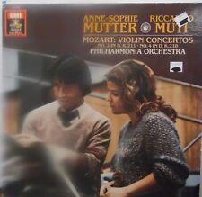 Mozart Concerto No. 2 in D Anne-Sophie Mutter Riccardo Muti 33RPM K.211 10117LLE