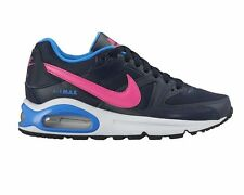 nike girls shoes. nike air max command gs navy pink trainers girls womens uk 5 3 407626 464 rrp nike shoes