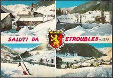 AD5682 Saluti da Etroubles (AO) - Vedute - Cartolina postale - Postcard