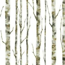Birch Trees / Tree on Soft White Background York Wallpaper BS5334 FREE SHIPPING