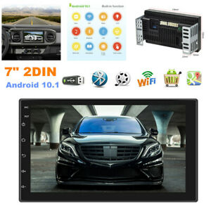 """7"""" 2DIN Android 10.1 Car Radio MP5 Player GPS Navigation WIFI with 12 LED Camera"""