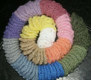 """100 Crochet Centers For Granny Squares 1.5"""". Afghan starter supplies"""