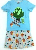 Minecraft Mojang Gaming pigiama bambino/ragazzo 100% ufficiale da 6-8-10-12anni