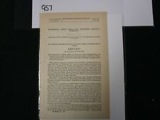 Govt Report 1888 Committee of Indian Affairs Bill for Building a Railway #957