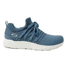 Skechers NEW Bobs Sparrow Sneaker Club slate blue memory foam trainers UK 5.5
