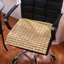 1pc 18''*18'' Car Summer Cooling Natural Bamboo Seat Cover Pad Home Office Chair