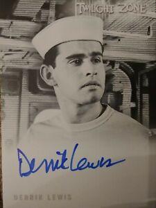 Derrik Lewis A-173 Autograph Card Twilight Zone Archives 2020 Rittenhouse