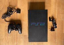 Sony PlayStation 2 Schwarz Spielekonsole (PAL - SCPH-50004)
