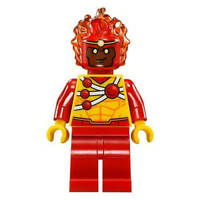 LEGO DC Super Heroes FIRESTORM Minifigure - Split from 76097 (Bagged)