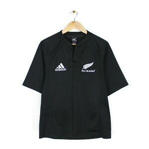 Adidas New Zealand All Blacks 2005 Home Rugby Jersey Shirt - Size S