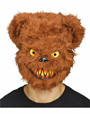 Killer Bear Mask Tibbers Horror Scary Adult Halloween Costume Accessory