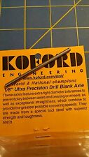 """Koford M418 1/8"""" Ultra Precision Drill Blank Axle From Mid America"""