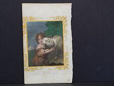 Sheep, John the Evangelist Hand Colored, #80