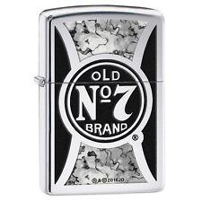 "Zippo Lighter! ""Jack Daniels Old No 7 Brand"". No 29233.  BNIB!"