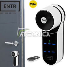 Serratura elettronica domotica YALE ENTR 2 apertura con APP telecomando tastiera