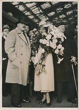 PARIS c.1930 - Henry de Jouvenel Ambassadeur de France Colette - PRM 266
