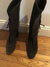 MICHAEL KORS womens BROWN SUEDE BOOTS size 10