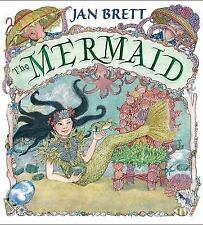 The Mermaid by Jan Brett (2017, Hardcover)