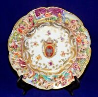 VTG Capodimonte Armorial Plate- Made in Germany