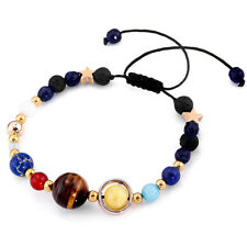 Solar System Planet Beaded Bracelet Space Sol Astronomy Galaxy Universe