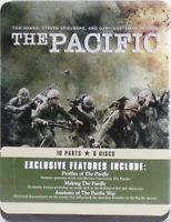 THE PACIFIC 6 DVD Set In COllectible Tin TOM HANKS Steven Spielberg WWII